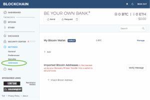 Purchase Bitcoin