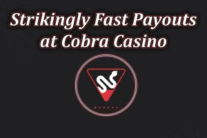 fast payouts cobra casino feature image