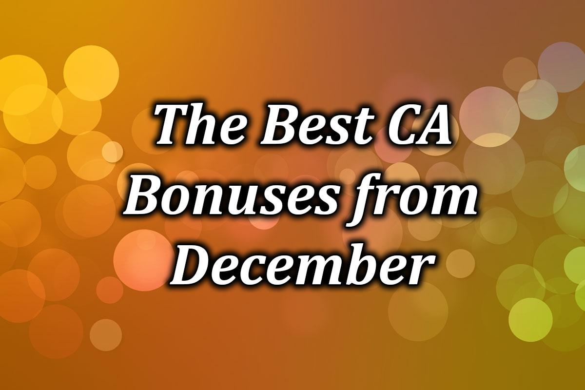 Best December 2020 bonuses