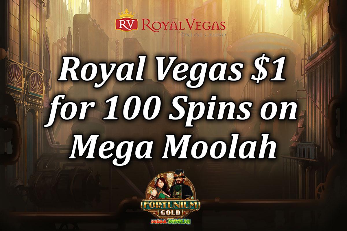 1 dollar deposit royal vegas